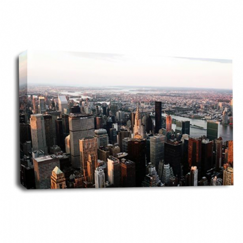 New York Canvas Wall Art Print Skyline City Picture